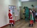Santa Claus as thin as a stick